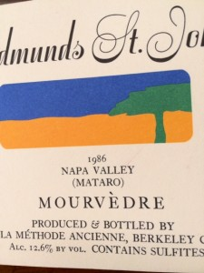 86 Mourvedre