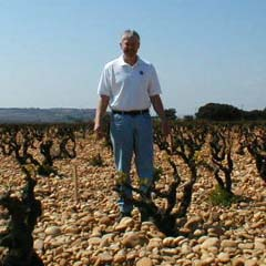 Ron Mansfield, in Chateauneuf du Pape